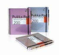 Pukka Pads A4 Executive Metallic Project Book Assorted - 3 Pack