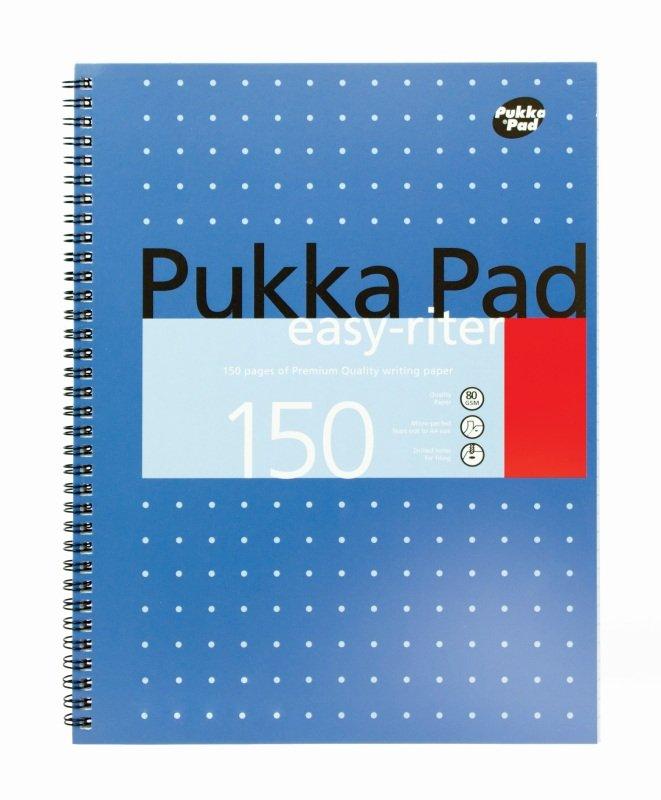 Pukka Easyriter Metallic A4 Writing Pad 80g - 3 Pack