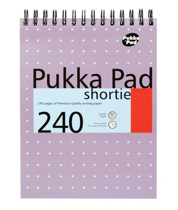 Pukka Pads Metallic Purple Shorthand Pad - 3 Pack