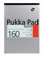 Pukka Pads A4 Refill- 160 pages - 1 Pack