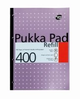 Pukka Pads A4 Refill Pad 400 Pages - 5 Pack
