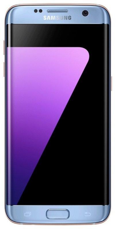 Samsung Galaxy S7 Edge 32GB Phone - Coral Blue