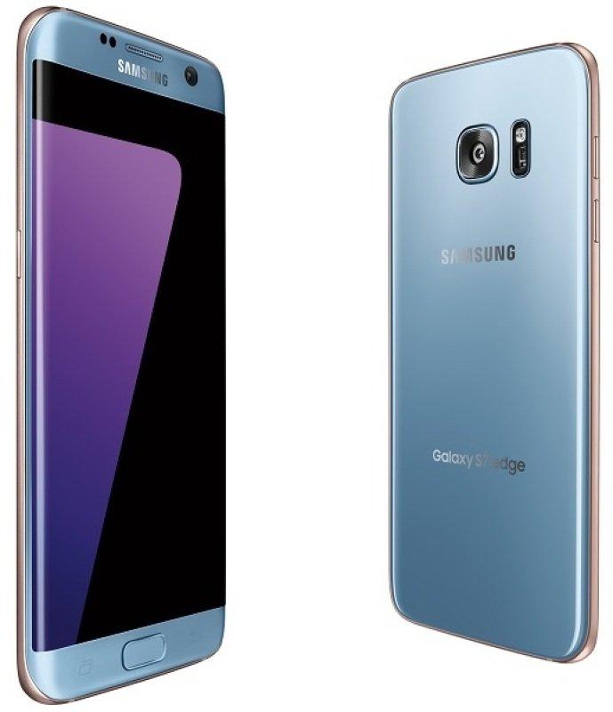 Samsung Galaxy S7 Edge 32GB Phone - Coral Blue ...