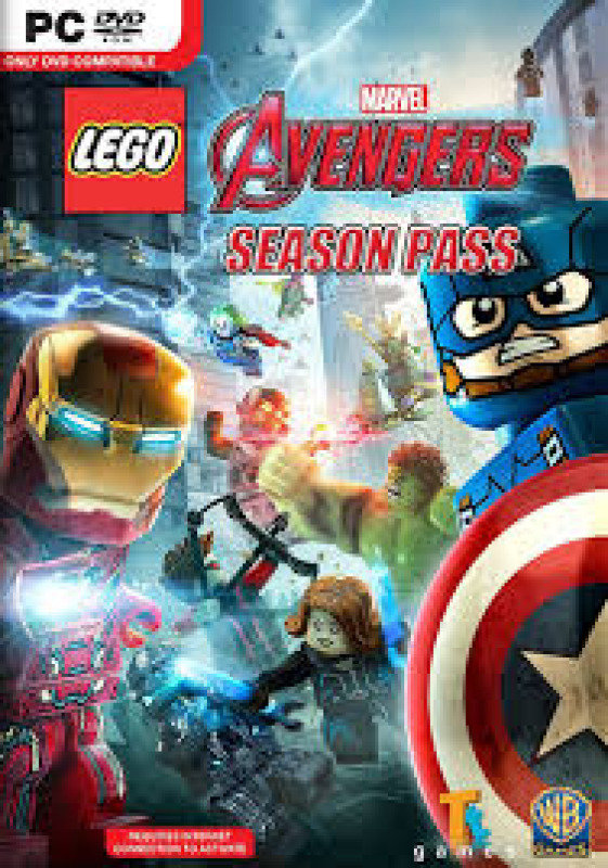 Lego Marvels Avengers Season Pass  (pc Game)