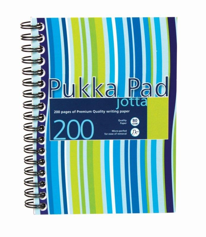 Pukka Pads A5 Jotta Polyprop - 3 Pack
