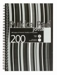 Pukka A5 Jotta Poly Cover Black Stripy - 3 Pack