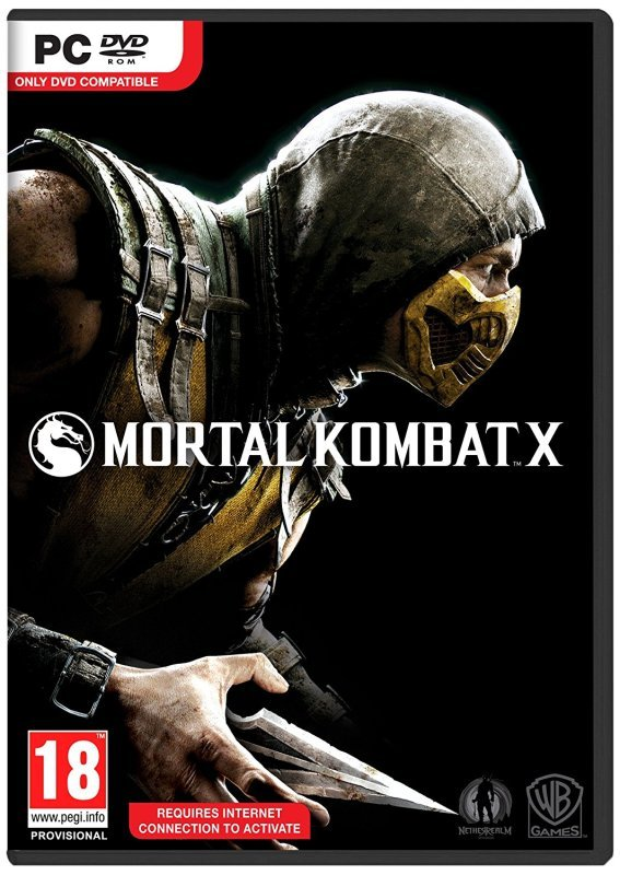 Mortal Kombat X - Age Rating:18 (pc Game)