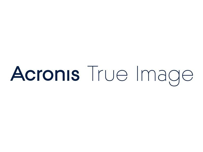 Acronis True Image 5 Computers + 500GB Acronis Cloud Storage 2 Year Subscription - Electronic Software Download