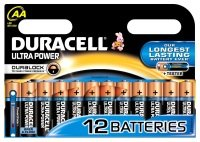 Duracell Ultra Power AA Batteries - 12 Pack