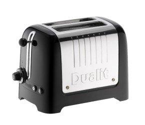 Dualit Lite Toaster 2 Slice Black