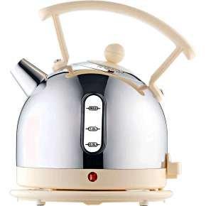 Dualit 1.7 Litre Dome Kettle Cream Trim
