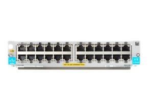 HPE 5400R 24-port 10/100/1000BASE-T PoE+ with MACsec v3 zl2 Module
