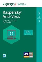 Kaspersky Anti-virus 2017 1 Year 3 Computers - FFP