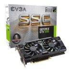 EVGA NVIDIA GeForce GTX 1050 2GB SSC Gaming ACX 3.0 Graphics Card