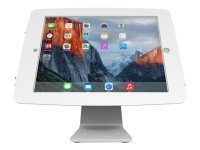Maclocks iPad Secure Space Enclosure with Rotating 360° Kiosk White - Mounting kit (desk stand, anti-theft enclosure, VESA adapter) for Apple iPad Pro - lockable - high-grade aluminium - white - for Apple 12.9-inch iPad Pro