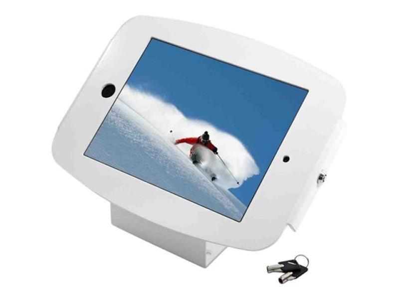 Maclocks iPad Secure Space Enclosure Kiosk White - Mounting kit ( mounting adapter, anti-theft enclosure ) for Apple iPad Pro - lockable - high-grade aluminium - white - for Apple 12.9-inch iPad Pro