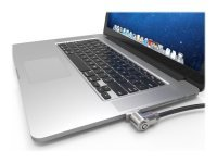 Maclocks The Ledge - Security slot lock adapter - silver - for Apple MacBook Air (11.6 in, 13.3 in)