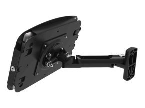Maclocks iPad Secure Space Enclosure with Swing Arm Kiosk Black - Mounting kit ( mounting adapter, anti-theft enclosure ) for Apple iPad Pro ( Tilt & Swivel ) - lockable - high-grade aluminium - black - for Apple 12.9-inch iPad Pro