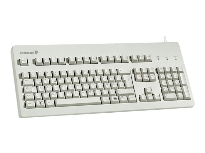 Cherry G80-3000 Standard Usb/ps2 Pc Keyboard (light Grey) - Uk