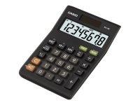 Casio 8-digit Tax and Currency Calculator Black