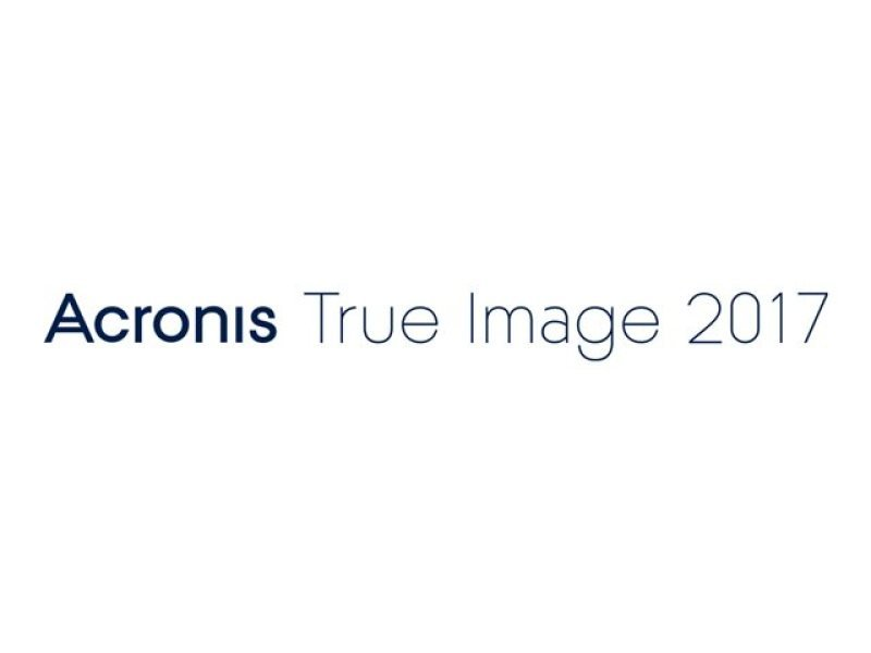 Acronis True Image 2017 5 Computers - Electronic Software Download