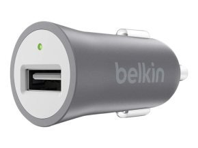Belkin MIXIT Space Grey USB Car Charger