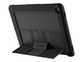 Griffin Survivor Slim - Protective case for tablet - silicone, polycarbonate, PET, thermoplastic polyurethane - black - for Apple 12.9-inch iPad Pro