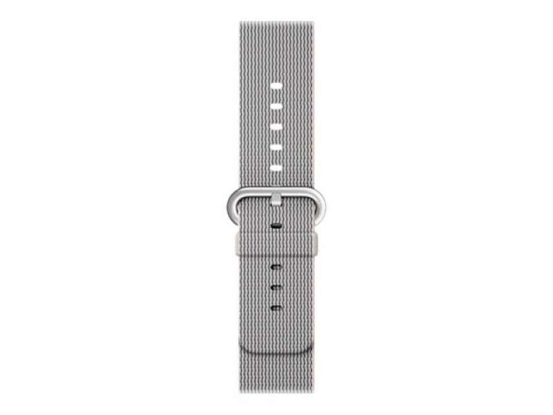 Apple 38mm Woven Nylon Band - Watch strap - pearl - for Watch (38 mm)