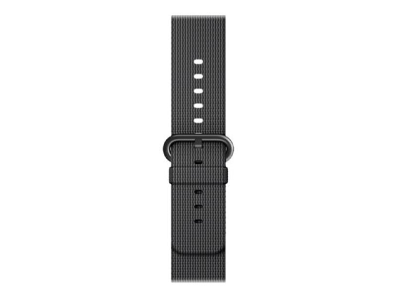 Apple 38mm Woven Nylon Band - Watch strap - black - for Watch (38 mm)