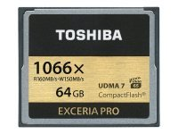 Toshiba EXCERIA PRO C501 64GB Flash Memory Card