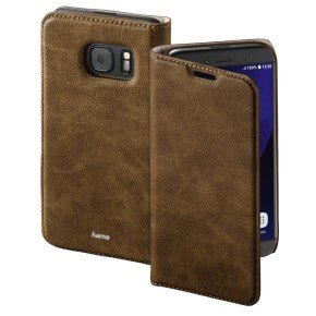 """guard Case"" Booklet Case For Samsung Galaxy S7 - Brown"