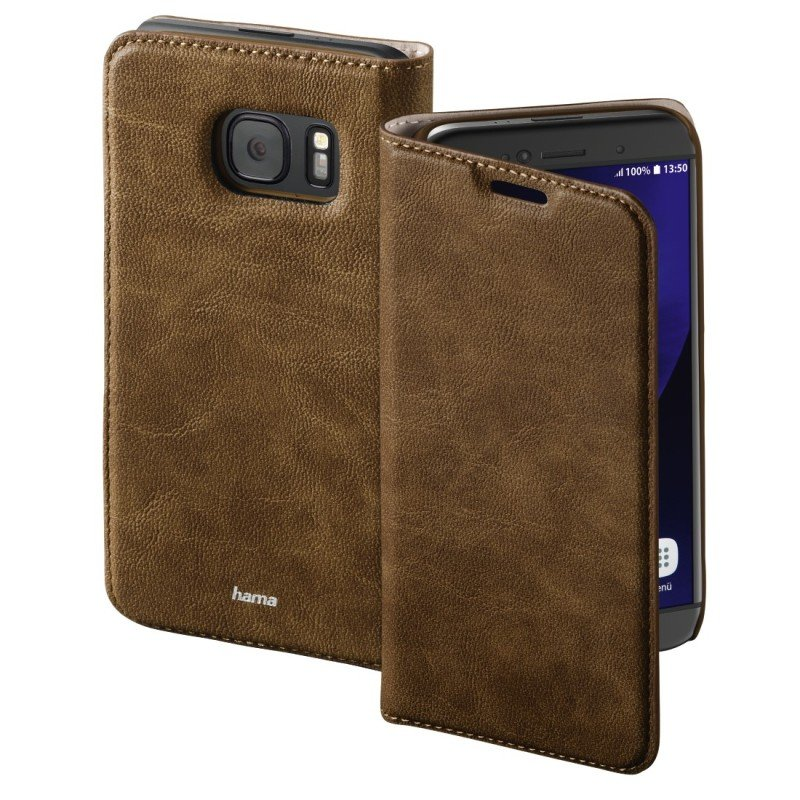 "&"";guard Case&""; Booklet Case For Samsung Galaxy S7 - Brown"