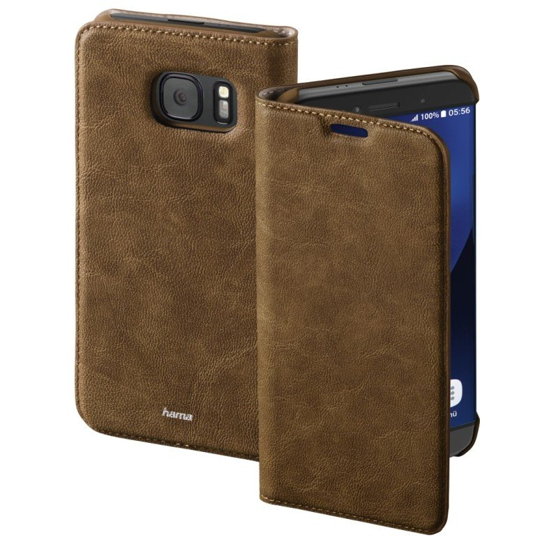 "&"";guard Case&""; Booklet Case For Samsung Galaxy S7 Edge - Brown"