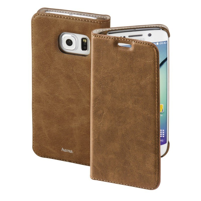 "&"";guard Case&""; Booklet Case For Samsung Galaxy S6 Edge - Brown"