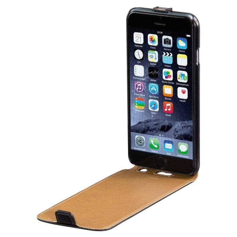 Hama Smart Case Flap Case for Apple iPhone 6 - Black