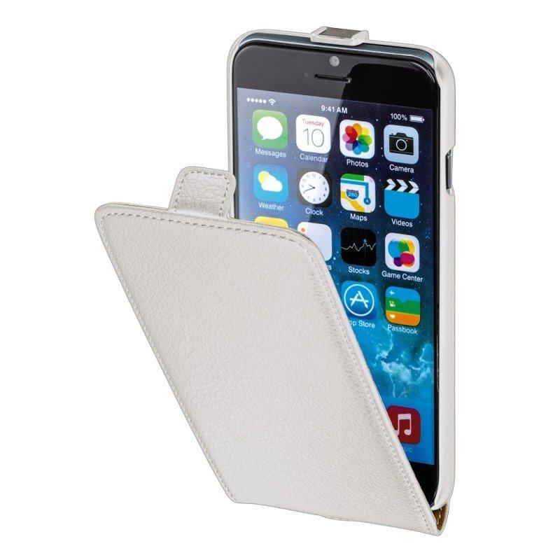 Hama Smart Case Flap Case for Apple iPhone 6, white