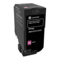 Lexmark Magenta High Yield Return Toner 12k