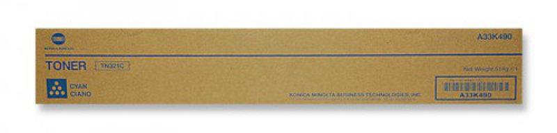 Konica Minolta TN321C Cyan Toner Cartridge