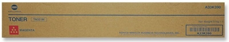 Konica Minolta TN321M Magenta Toner Cartridge