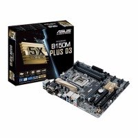 Asus B150M-PLUS D3 socket LGA1151 VGA DVI-D HDMI 8-Channel HD Audio mATX Motherboard