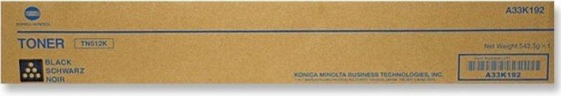 Konica Minolta TN512 Black Toner Cartridge