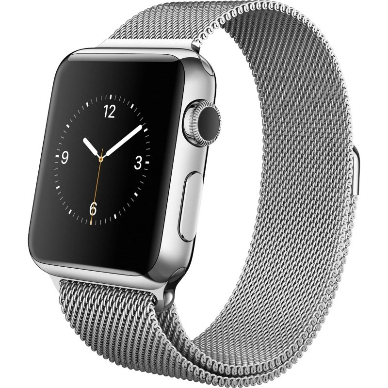 Apple Watch Series 2 - 42 mm - stainless steel - smart watch with milanese loop - stainless steel - silver - 150-200 mm - colour - Wi-Fi, Bluetooth - 52.4 g - silver cheapest retail price
