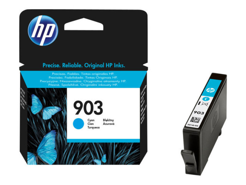HP 903 Cyan Ink Cartridge - T6L87AE