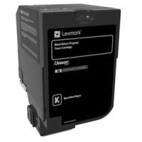 Lexmark CX725 Black Toner Cartridge- 25k Yield