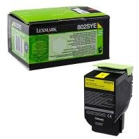 Lexmark 802SYE 2K Yellow Corporate Toner Cartridge