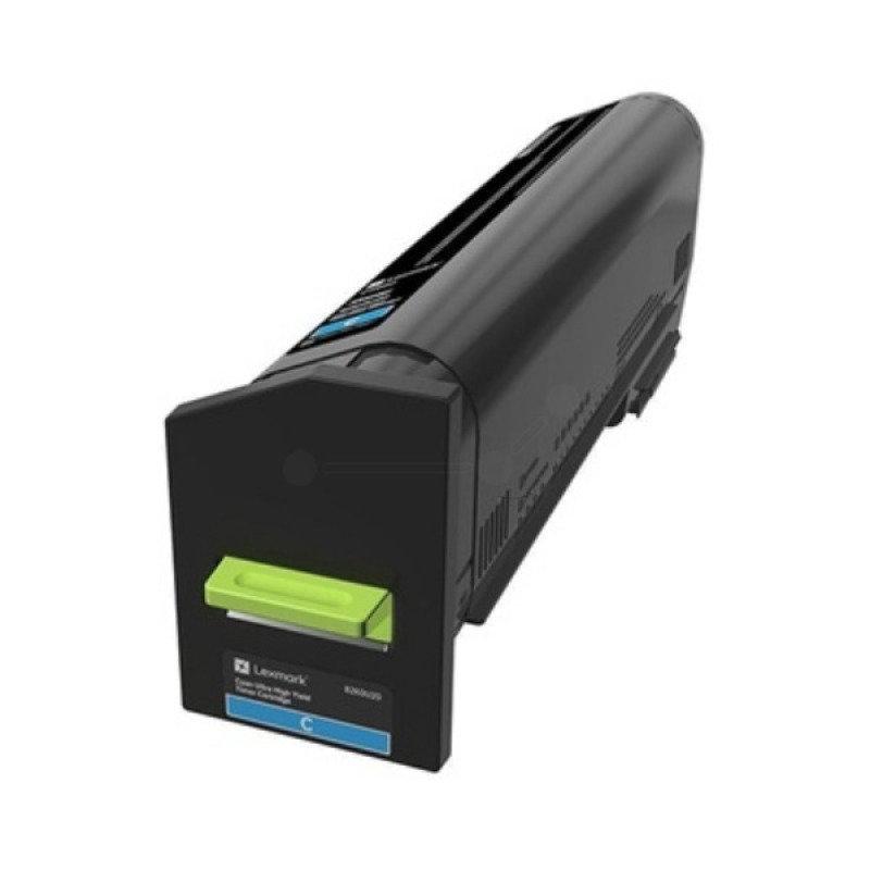 Lexmark 22K Cyan Return Program Toner Cartridge (CS820)