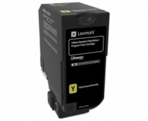 Lexmark Yellow Toner Cartridge- 7k Yield