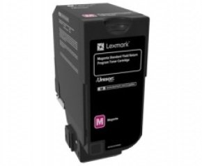 Lexmark Magenta Toner Cartridge- 7k Yield