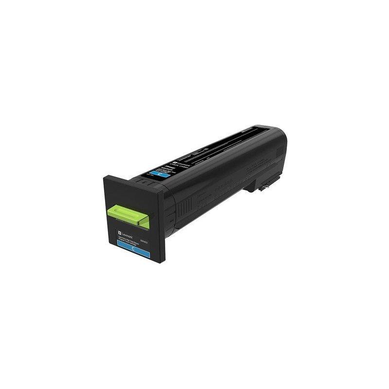 Lexmark 22K Cyan Return Program Toner Cartridge (CX825/860)