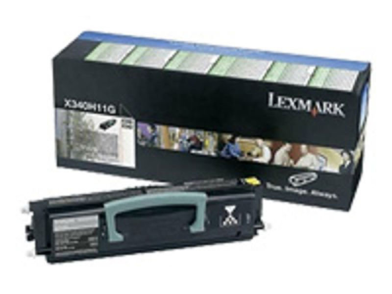 Lexmark X340H11G Black Toner Cartridge